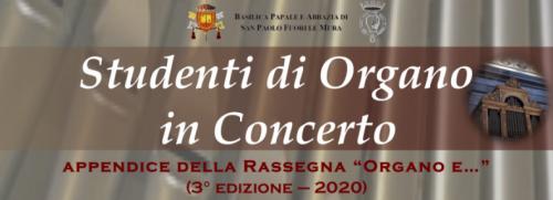 titolo per studenti di organo in concerto